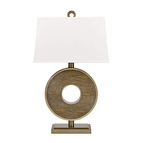 "Catalina Lighting Owen 32.5"" Contemporary Drift Faux Wood Ri"