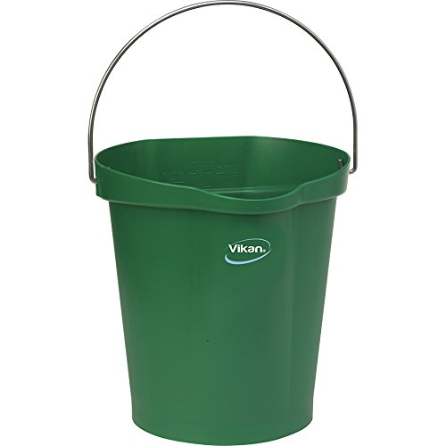 Vikan Polypropylene Green 3 Gallon Pail