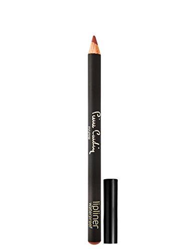 Pierre Cardin Paris Lip Liner Waterproof Wooden Pencil, Burnt Rose, 0.01 oz