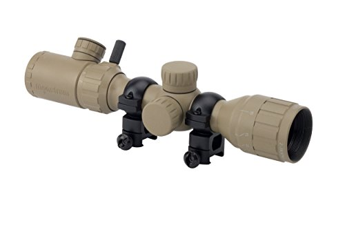 Cheap Monstrum Tactical 2-7×32 AO Rifle Scope with Illuminated Range Finder Reticle (Flat Dark Earth)