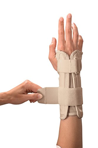 (Mueller Wrist Stabilizer, Large/X-Large, Beige, 1-Count Package)