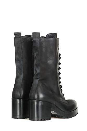 Nero Boots Boston Ankle Strategia Women Black P2385 xRqanwAU8