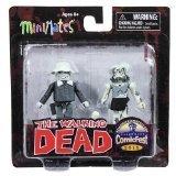 Minimates: B&W Series Winter Coat Dale/Female Zombie 2-pack by Diamond Select