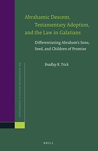 Abrahamic Descent, Testamentary Adoption, and the Law in Galatians: Differentiating Abraham S Sons, Seed, and Children of Promise (Novum Testamentum, Supplements)