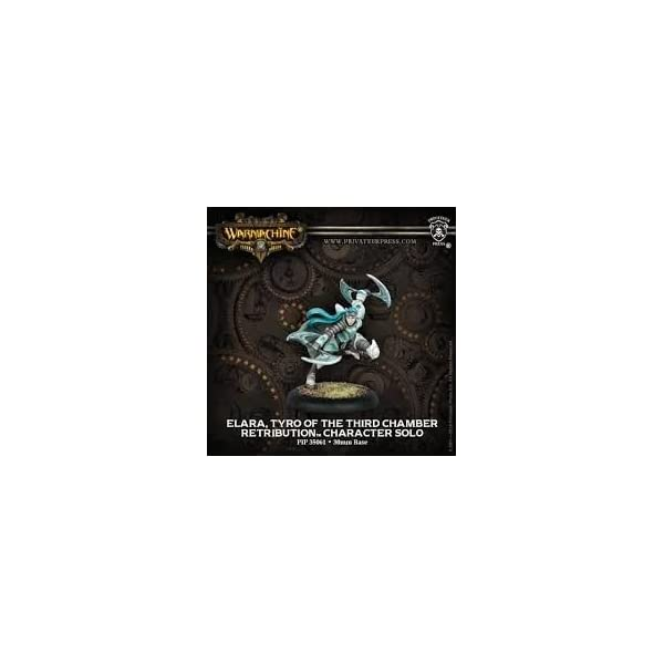 Privateer Press - Warmachine - Retribution: Elara Tyro of The Third Chamber Model Kit 3