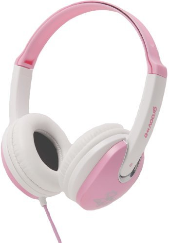 Groov-e GV590PW Kids DJ Style Headphone - Pink by Groove