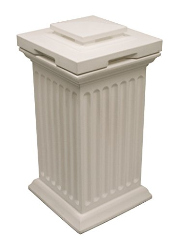 Good Ideas SV-COL-WHI Savannah Storage Column, White