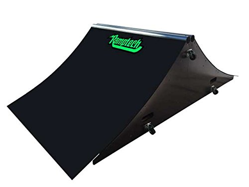 Ramptech 2' Tall x 4' Wide Spine Skateboard Ramp