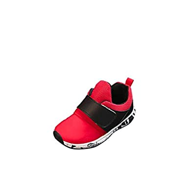 Auwer Baby Fashion Soild Sneaker Child Toddler Breathable Casual Shoes Sports Shoes Outdoor Running Athletic Shoes