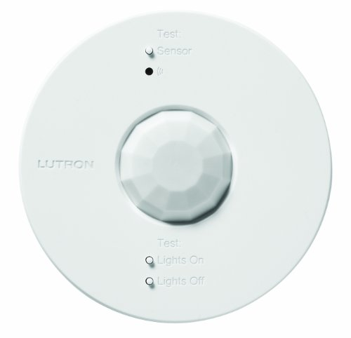Lutron LRF2 OCRB P WH Wireless Ceiling Mounted Occupancy product image