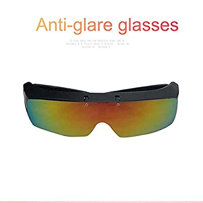 whiteswan - Outdoor Riding Driving Goggles Anti Glare Glasses for Sports(Color)