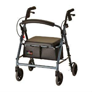 NOVA Medical Products GetGo Junior Rollator Walker, Blue, 13.75 Pound