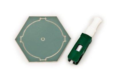 3M Crimplok™ Connector SC//APC SM 250//900um 8700-AT//APC lot of 12  New Sealed