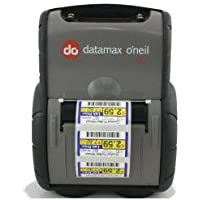 Datamax RL3-DP-50000310 RL3E Portable Label Printer, Direct Thermal, 802.11/Bluetooth 4.0 LE Dual Radio, 64 MB/128 MB, Serial/USB, E-Charge, LCD Screen