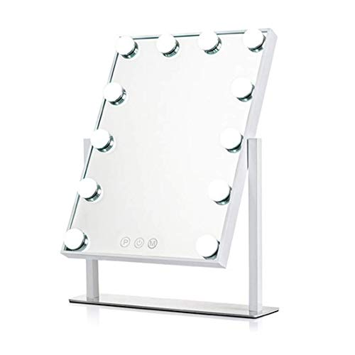 - Showtime Hollywood Makeup Vanity Mirror with Lights, Three-Tone Dimmer Design, 12