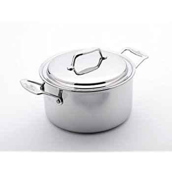 Amazon Com Usa Pan 1515cw 1 Cover 4 Quart Stock Pot