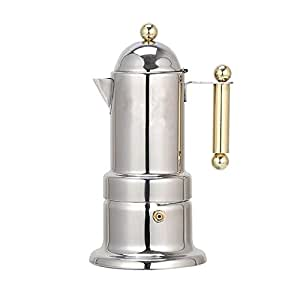 Amazon.com: Prettyia Stovetop - Cafetera para espresso de ...