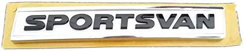 original Emblem Logo Schriftzug Sportsvan Aufkleber Heckklappe