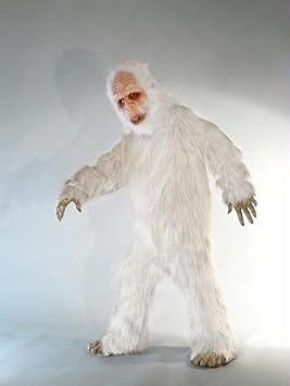 White Sasquatch Yeti Costume Halloween Costume & White Sasquatch Yeti Costume Halloween Costume: Amazon.ca: Toys u0026 Games