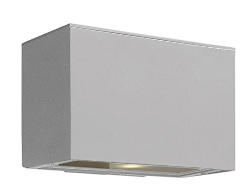 Hinkley 1646TT-LED Transitional One Light Wall Mount from Atlantis collection in Pwt, Nckl, B/S, Slvr.finish,