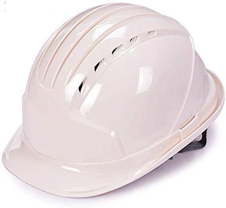 安全ヘルメット - 頭を保護するための換気ヘルメット、建設ヘルメット (Color : E)