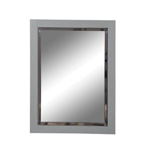 (DECOLAV 9719-SLT Briana 24-Inch Rectangular Wall Mirror, Slate)