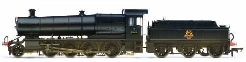Gauge Dcc Locomotive (Hornby R3006X BR 2-8-0 '3864' 3800 Class - Late BR Weathered 00 Gauge DCC Fitted Steam Locomotive by Hornby)