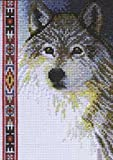 "Bulk Buy: Janlynn Wold Wildlife Mini Counted Cross Stitch Kit 5""X7"" 14 Count 13-0267 (2-Pack)"
