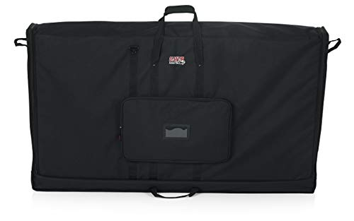 Gator Cases Padded Nylon Carry Tote Bag for Transporting LCD Screens, Monitors and TVs; Fits 60