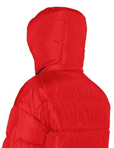 Levi's chinese Red Mujer Chaqueta Rojo Puffer Para 0002 Martina zYxrRTqz