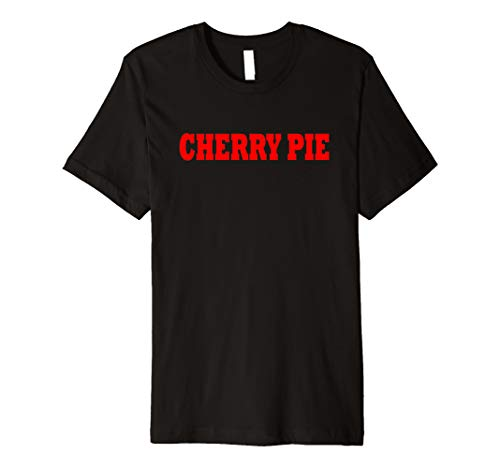 Cherry Pie Food Halloween Costume Party Cute Funny T Shirt ()