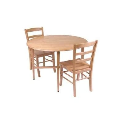 Hannah 3pc Dining Set, Drop Leaf Table with 2 Ladder Back Chairs -  - kitchen-dining-room-furniture, kitchen-dining-room, dining-sets - 31mH5Yn3xIL. SS400  -