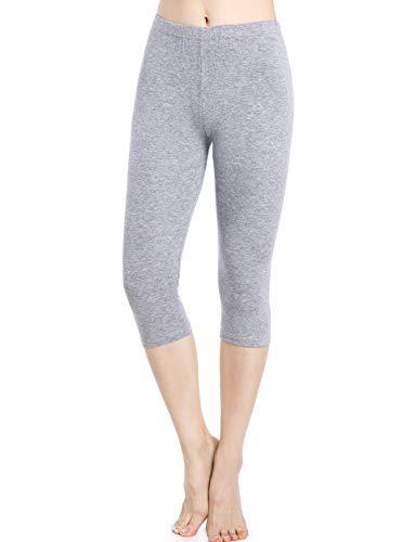 Skirts Cotton Silk Smocked Dress - Ferrieswheel Story Short Leggings for Women Under Dress Pants Plus Size Capri Slips Shorts Wourkout Grey