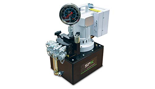 (SPX Power Team PE55TWP-BS Electric Hydraulic Pump, Two Speed, 110/115V, 10,000 PSI, Single Tool, Remote with 20 Ft Cord)