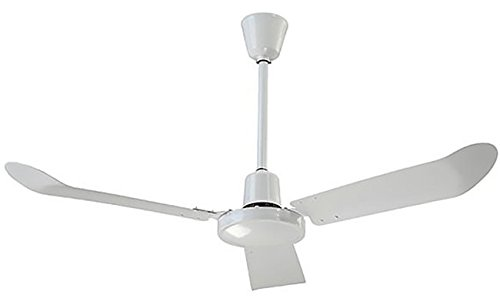 Canarm White Variable Speed & Reversible 56 inch Commercial Ceiling Fan 20500 CFM CP56FR
