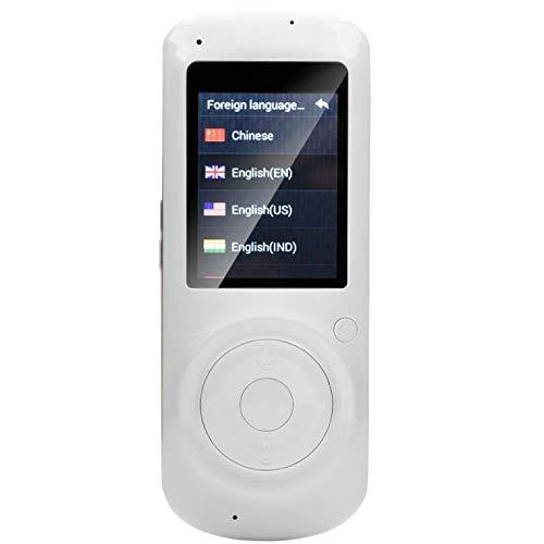 最新エルメス スマートボイス言語トランスレーターデバイス (ホワイト) 2.4インチIPSスクリーン ポータブル ミーティング スマートリアルタイム WiFi音声 16言語トランスレーター 学習 旅行 ショッピング ビジネス ビジネス ミーティング (ホワイト) B07HDS619G, アヤカミチョウ:30956e98 --- svecha37.ru