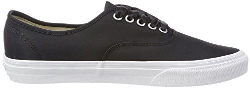Lux Zapatillas Negro Satin Authentic U Vans Unisex fZYBx
