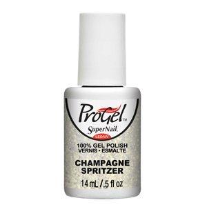 Progel Champagne Spritzer 0.5oz 14ml Gel Nail Polish by Progel