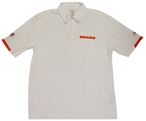 White 1/4 Zip Performance Polo (Large) ()