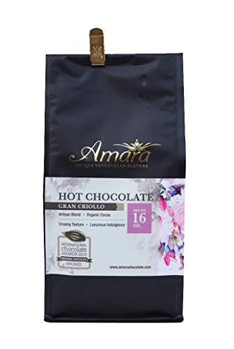 Organic Drinking Chocolate - Amara Unique Venezuelan Flavors. Hot Chocolate