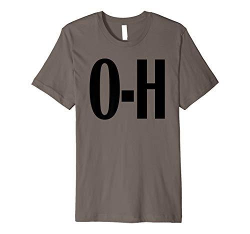 - O-H Couples Matching Ohio Sports Football Funny Fun T-shirt