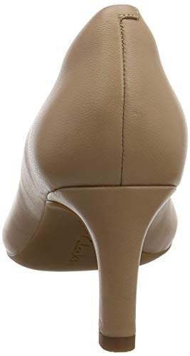Leather Clarks Escarpins Beige Rose Calla Femme nude Owq41a