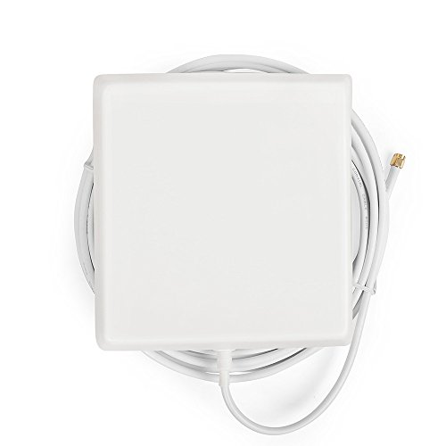 Indoor Cellular Multiband Panel Antenna for 4G LTE Cellphone signal Booster and Repeaters with 5m White Cable SMA-male Connector by ANYCALL (Image #4)