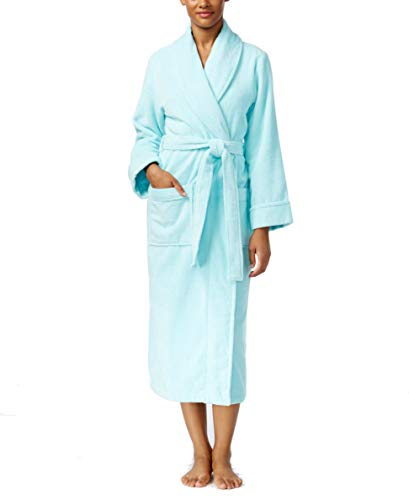 - Charter Club Luxe Turkish Cotton Terry Robe (XXX-Large, Soft Rain)
