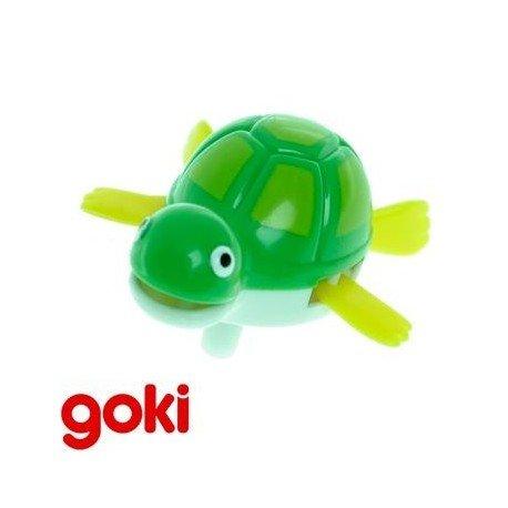 Juguete mecánico a cuerda GOKI TORTUGA Colección MUÑECOS ACUÁTICOS para el baño Niños + 4 años