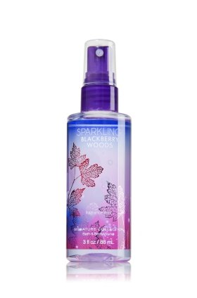 Sparkling blackberry woods fragrance mist 3 fl oz by Bath & Body Works