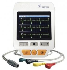 Heal Force Handheld Moniteur ECG avec Bluetooth, modè le PC-80A (FDA, CE Les mieux noté es) par Home Care Wholesale modèle PC-80A (FDA CE Les mieux notées) par Home Care Wholesale