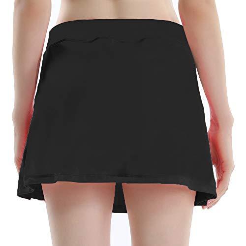 Taille 40 Noir 34 Sobrisah Femme Jupe nqwSUPx0fF