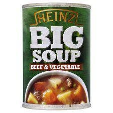 Heinz Big Soup Beef And Vegetable 400G by Heinz ()