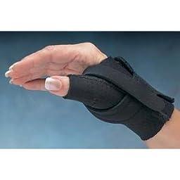 Comfort Cool Thumb CMC Restriction Splint - Size: Medium, Right - Model 92720503